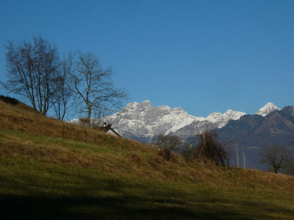 Vista sul parco nazionale delle Dolomiti bellunesi, Sass de Mur/Cimonega - Gaia Erbe
